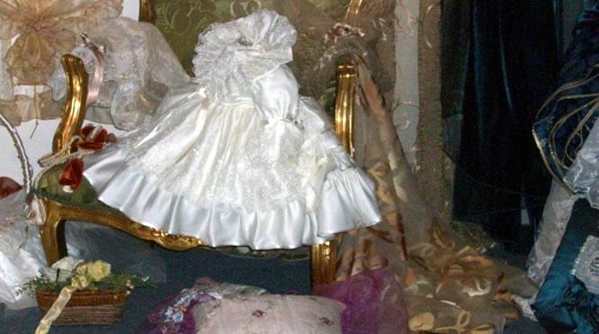 Abiti da sposa, abiti da battesimo, cuscini porta fede, Rosa Confezioni Cagliari Sardegna